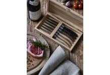 6 Laguiole Le Couteau Gemischtes Holz