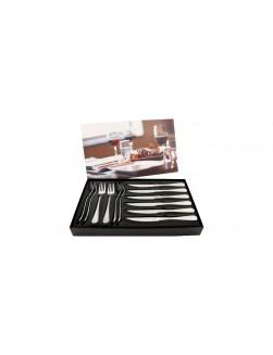 Hardanger Carina Steakbesteck - 24 Teile - 12 Personen